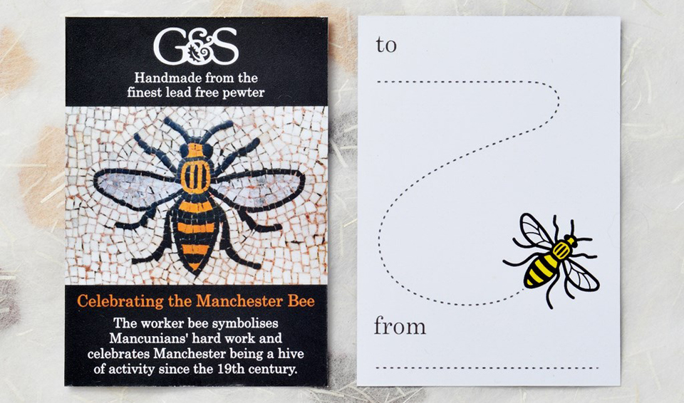 manchester bee gift card