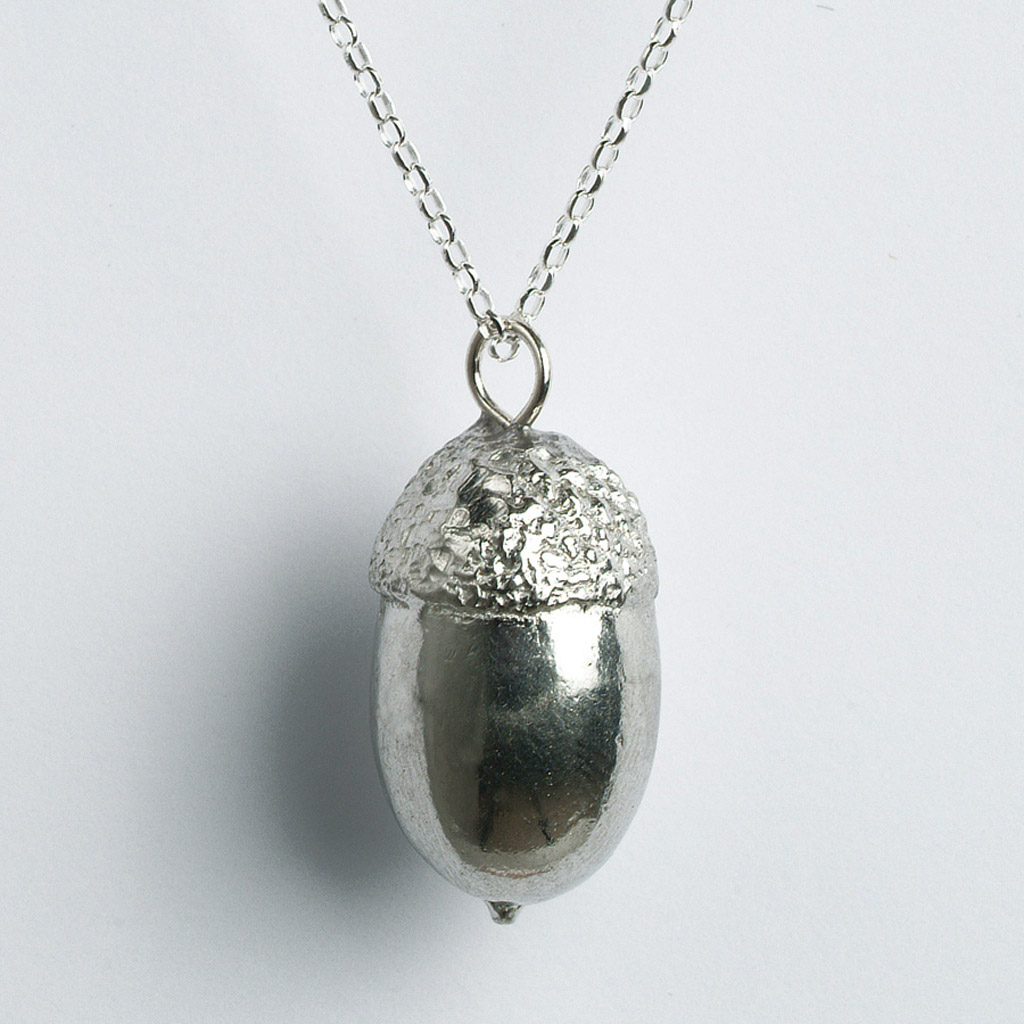 products semi jewelry stone with pendant acorn necklace bones precious