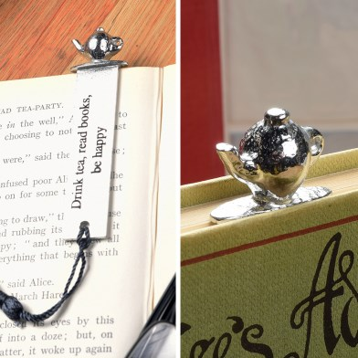 Teapot English Pewter Bookmark | Image 1