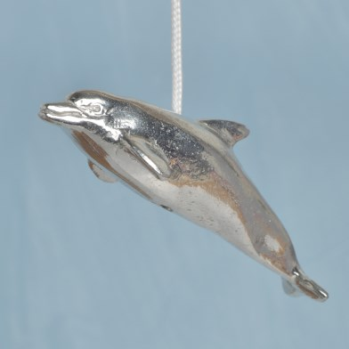 Dolphin Pewter Light Pull English Pewter Cord Pulls | Image 1