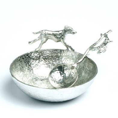 Hound Bowl with Hare Spoon | Image 1