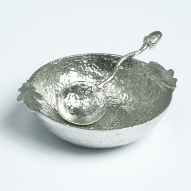 Oak Leaf Bowl with Acorn Spoon | Image 1