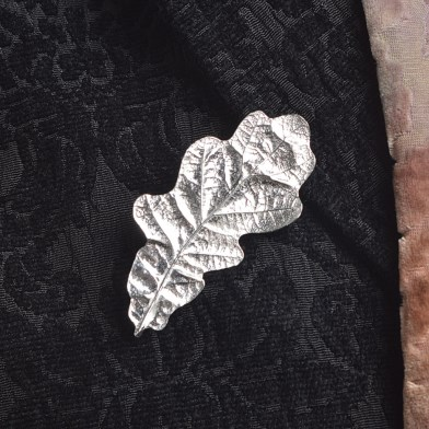 Oak Leaf Brooch English Pewter Gifts | Image 1
