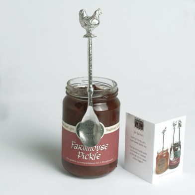 PERSONALISED Long Jar Spoon | Chicken | Image 1