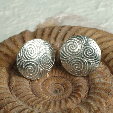 Spiral of Life Stud Earrings | Image 1