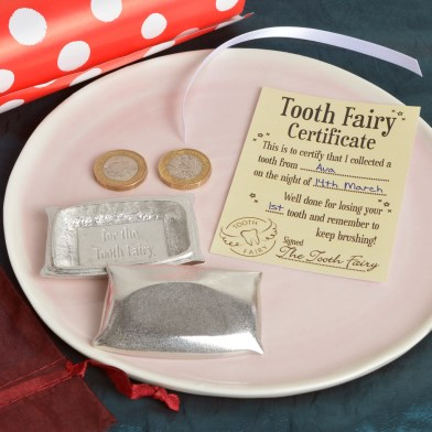 Tooth Fairy Pillow Pewter Trinket Box | Image 1