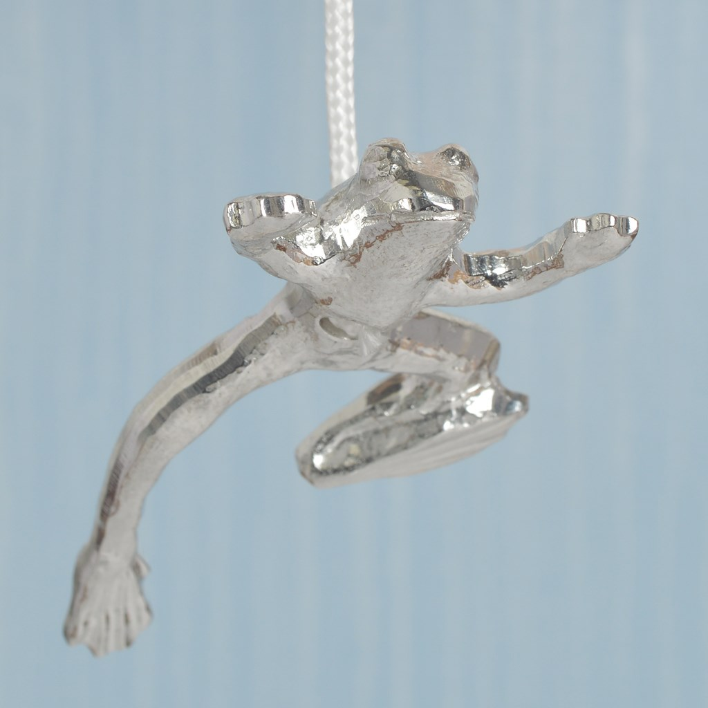 Frog light pull frog cord pulls uk made solid pewter for Bathroom light pull
