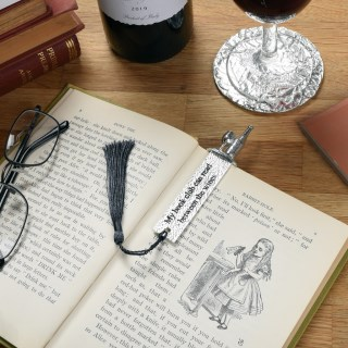 Book Club Wine Pewter Bookmark | Image 3