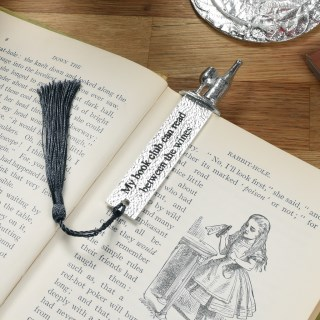 Book Club Wine Pewter Bookmark | Image 2