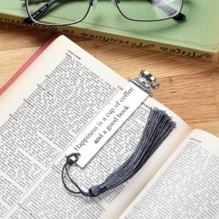 Coffee Cup English Pewter Bookmark | Image 2