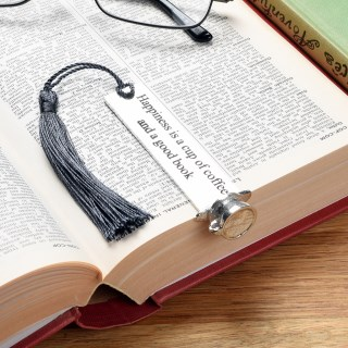 Coffee Cup English Pewter Bookmark | Image 3