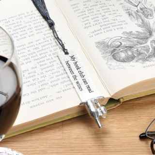 Book Club Wine Pewter Bookmark | Image 5