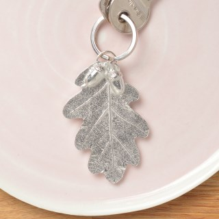 Pewter Oak Leaf and Acorn Keyring Gifts | Image 3