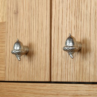 Acorn Cabinet knobs Solid Pewter Door Handle | Image 7