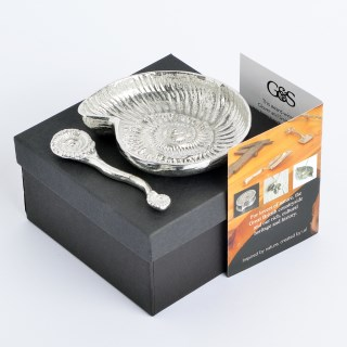 Ammonite Fossil Bowl and Spoon | Image 4