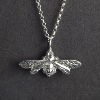 Bee Necklace | Small | Image 3
