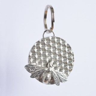 Bee Pewter Keyring English Pewter Gifts | Image 2