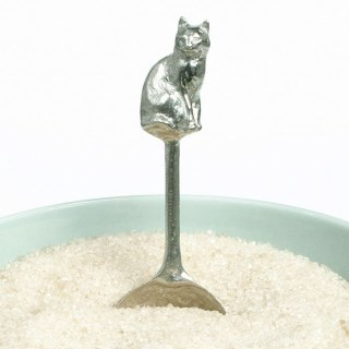 Cat Pewter Spoon UK Handmade Cat Gifts | Image 6