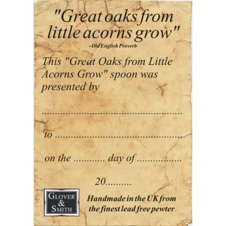 'From Little Acorns' Christening Spoon | Image 4