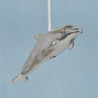 Dolphin Pewter Light Pull English Pewter Cord Pulls | Image 3
