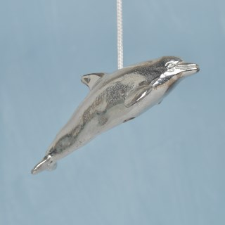 Dolphin Pewter Light Pull English Pewter Cord Pulls | Image 2