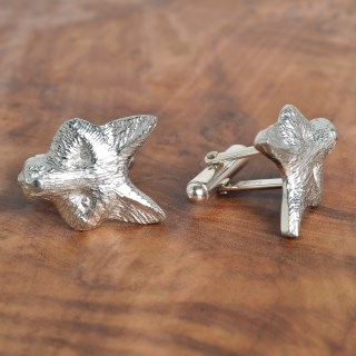 Fox Cufflinks English Pewter Fox Gifts for Men | Image 5