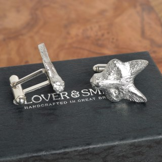 Fox Cufflinks English Pewter Fox Gifts for Men | Image 4