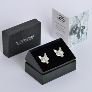 Fox Cufflinks English Pewter Fox Gifts for Men | Image 6