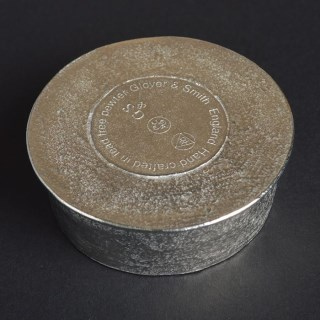 'From Little Acorns' Christening Pewter Trinket Box Personalised | Image 7