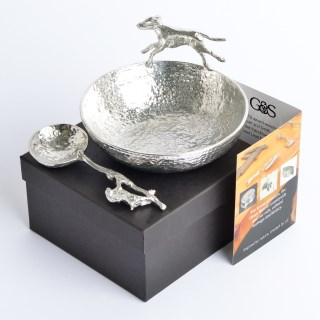 Hound Bowl with Hare Spoon | Image 2