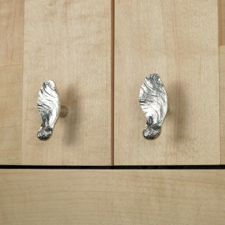 Maple Key Seed Drawer Pull Solid Pewter | Image 6
