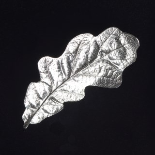 Oak Leaf Brooch English Pewter Gifts | Image 4