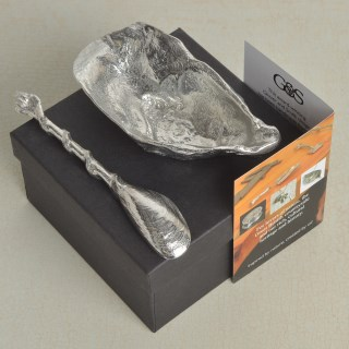 Oyster Shell Bowl and Mussel Spoon | Image 4