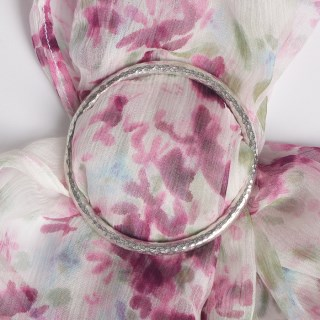 Plain Small Scarf Ring | Image 2