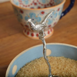 Pheasant English Pewter Spoon, Countryside Gifts | Image 5
