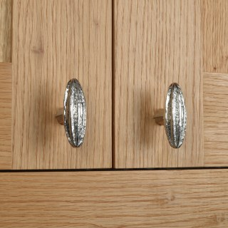 Seed Pod Cabinet knobs Solid Pewter Door Handles | Image 5