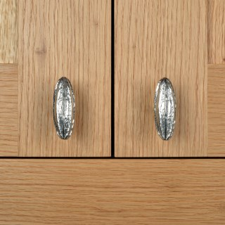 Seed Pod Cabinet knobs Solid Pewter Door Handles | Image 6