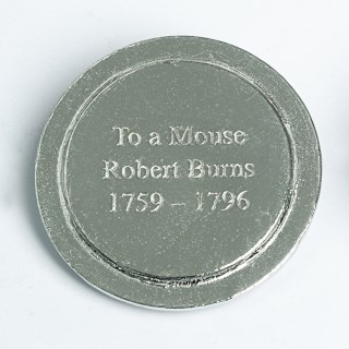 Robbie Burns 'To A Mouse' Pewter Trinket Box | Image 3