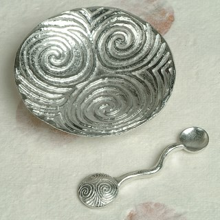 Spiral of Life Bowl and Spoon | Image 2