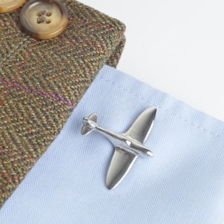 Spitfire Cufflinks PERSONALISED | Image 3