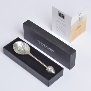 Strawberry Pewter Teaspoon | Image 2