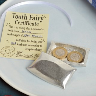 Tooth Fairy Pillow Pewter Trinket Box | Image 2