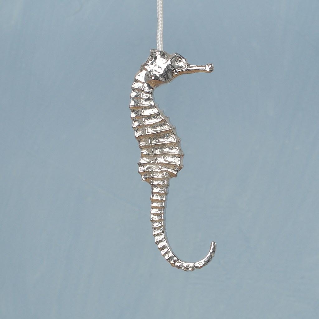 Seahorse Light Pull Seahorse Cord Pulls UK Made Pewter