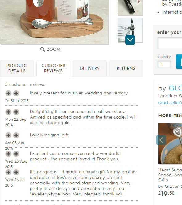 glover and smith notonthehighstreet review