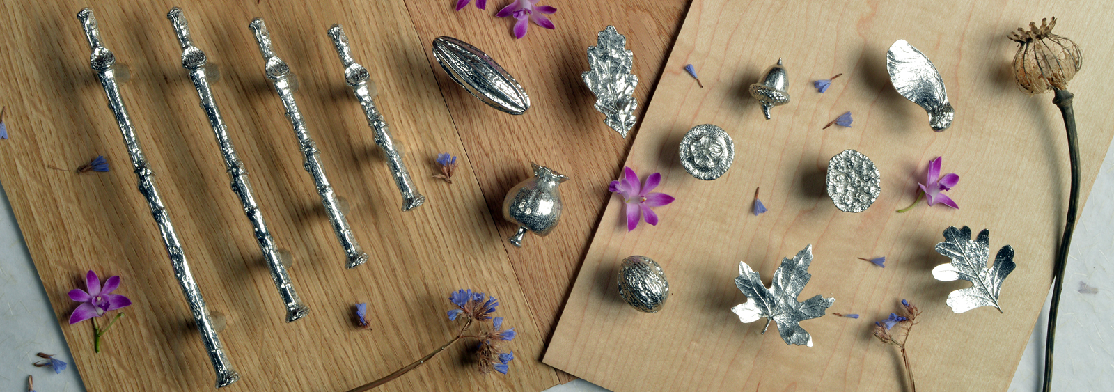 Pewter Cabinet Handles UK Handmade by Glover and Smith