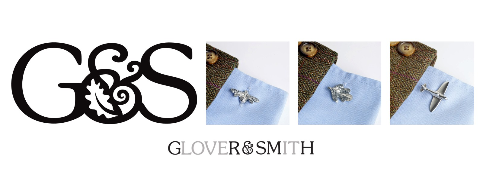 Pewter Cufflinks Jewellery for men UK Handmade Glover and Smith